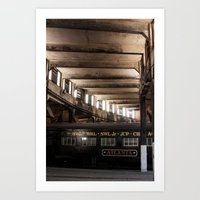 Atlanta Train Art Print