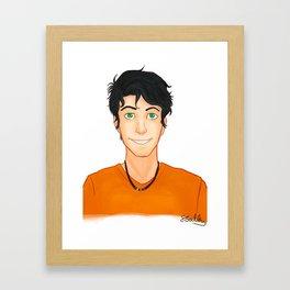 Percy Jackson Framed Art Print