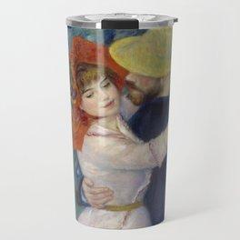 Pierre-Auguste Renoir - Dance at Bougival Travel Mug