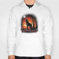 werewolf Hoodies featuring Werewolf by Antracit