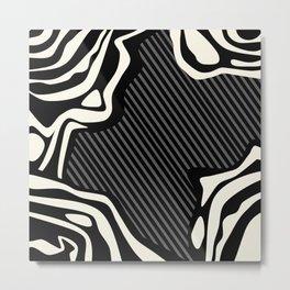 Lava Chaos Metal Print