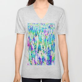 Purple Vibrance #society6 #decor #buyart Unisex V-Neck