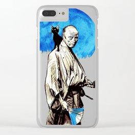 Blue Shogun Clear iPhone Case