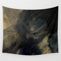 imagerybydianna Wall Tapestries featuring fade to shadow by Imagery by dianna