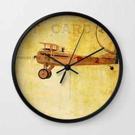 Vintage Flight Wall Clock