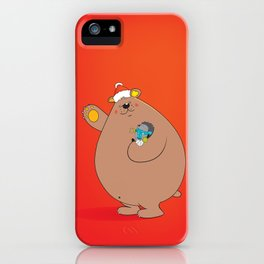 We wish you a Merry Christmas II iPhone Case