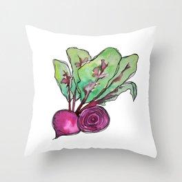 Beets Throw Pillow