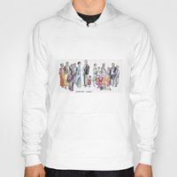 downton abbey Hoodies featuring Downton Abbey by Yvette