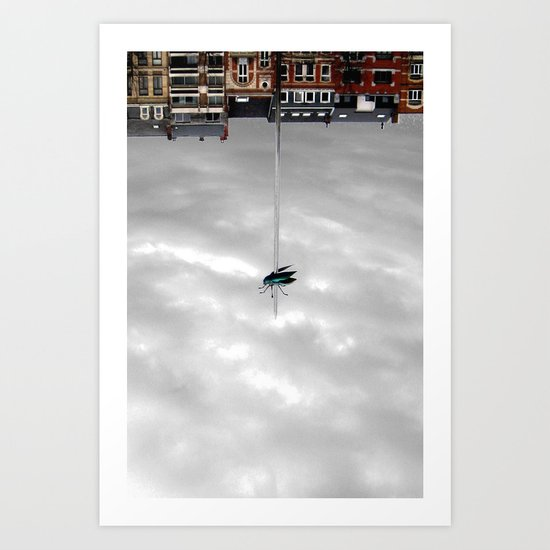 fly with me. Art Print
