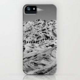 Moon Walkers iPhone Case