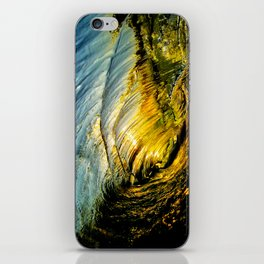 Sunset Barrel ~ Newport Beach iPhone Skin