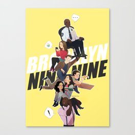 brooklyn 99 Canvas Print