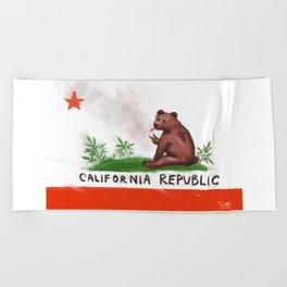 Smokey Bear Beach Towel
