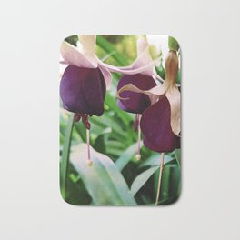 princess earrings flower Bath Mat