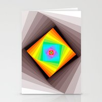 quilt Stationery Cards featuring Digital Quilt by Take Five