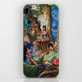 One piece of sleep with friends iPhone Skin