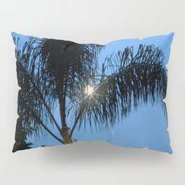 Moonlight through the Palms, Southern California Pillow Sham