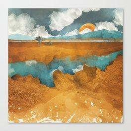 Desert River Canvas Print