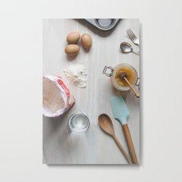 Baking Metal Print