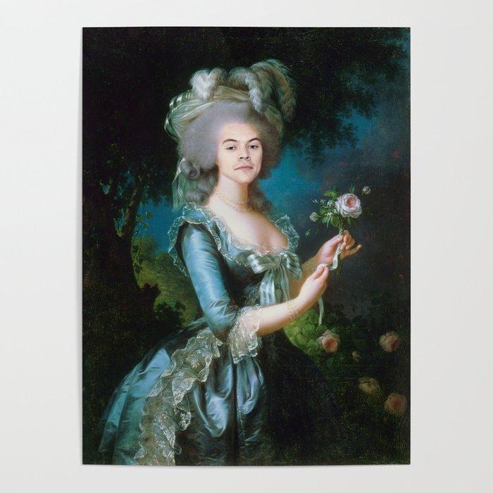 f82ed85d4f53f Queen Harry Styles Poster by notwonderfulyet