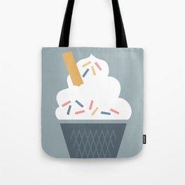 Ice Cream (Blue) Tote Bag