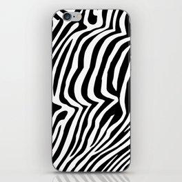 Zebra skin pattern iPhone Skin
