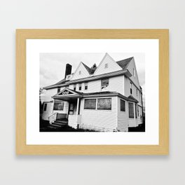 That One Cont. Framed Art Print