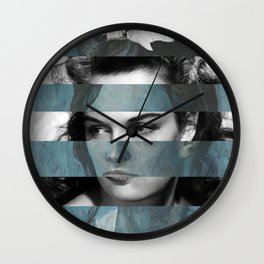 Picasso's Woman with a Helmet of Hair & Jane R. Wall Clock