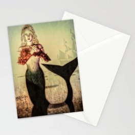 The Lonely Mermaid Stationery Cards