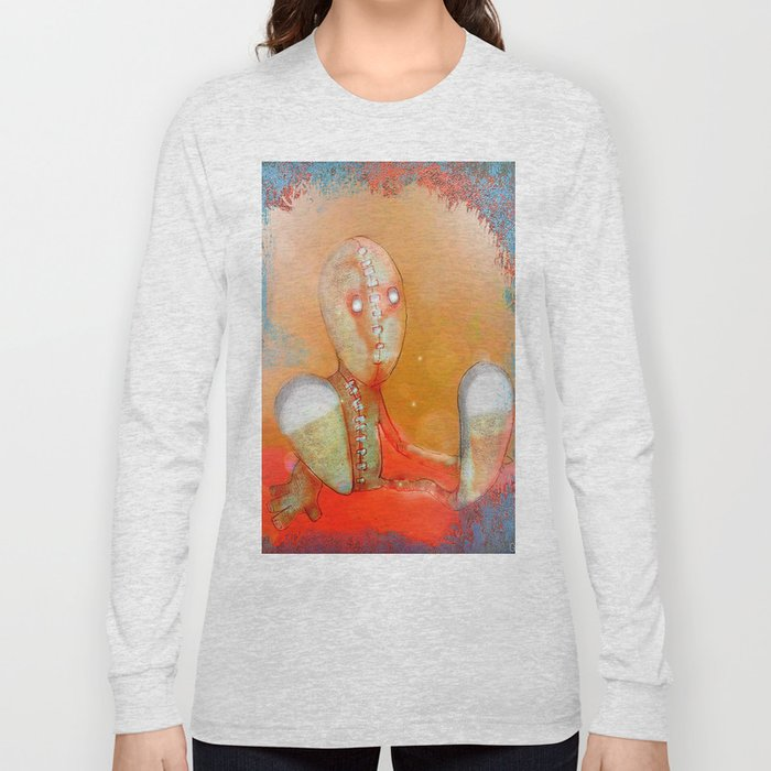 The cuddly toy  to find in the attic Long Sleeve T-shirt