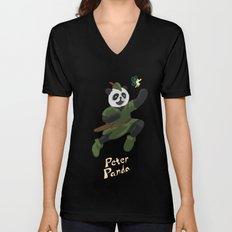 Peter Panda Unisex V-Neck