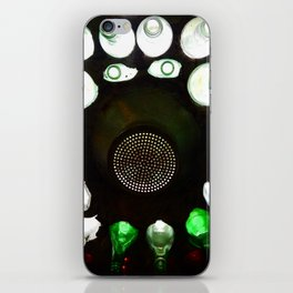 Bottle Wall and Vent iPhone Skin