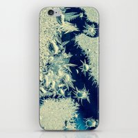 jack frost iPhone & iPod Skins featuring jack frost by Bonnie Jakobsen-Martin
