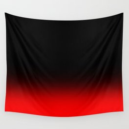 Fade To Red Wall Tapestry