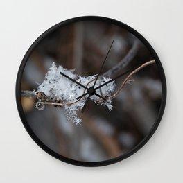 Delicate Snowflake Wall Clock