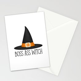 Boss Ass Witch Stationery Cards