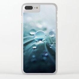 Rain drop Clear iPhone Case