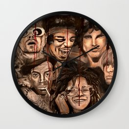 The 27 club Wall Clock