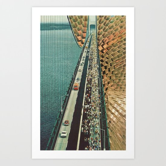 the tipping point Art Print