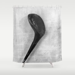"""exclusive N-series golf club #3"" Shower Curtain"