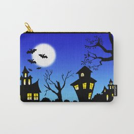 Blue Sky Of Nightmare Carry-All Pouch