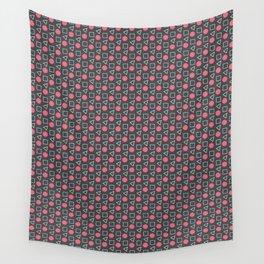 Geo Sprinkles Pink (Black Sesame) Wall Tapestry