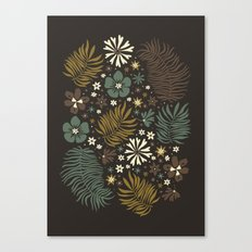 Mystical Forest (Greens) Canvas Print