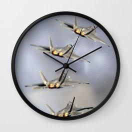 F-22 raptor Wall Clock