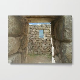When God Closes a Door... Metal Print