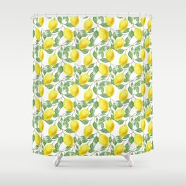 Lemon Time Shower Curtain