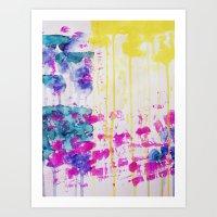 SunShower Art Print