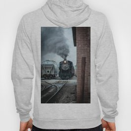 Strasburg Railroad Steam Engine #90 Vintage Train Locomotive Pennsylvania Hoody