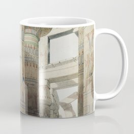 Karnac (Karnak) illustration by David Roberts (1796–1864)cc Coffee Mug