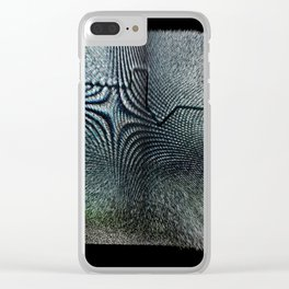 Free Vertical Composition #510 Clear iPhone Case